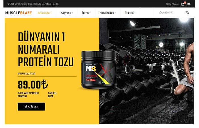 Yaprak Site - Tek Ürün Satış Sitesi - One page site